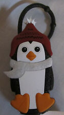 Bath & and Body Works Black Penguin With Glitter PocketBac Holder Women NEW