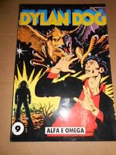 Bonelli Dylan dog Alfa e Omega 9 Quaderno Cartonato