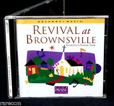 HOSANNA MUSIC Revival At Brownsville 1996 CD WORSHIP PRAISE LINDELL COOLEY