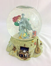 Disney The Little Mermaid Snow Globe Ariel Eric Statue Music Part of Your World