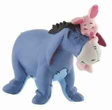 Winnie the Pooh Eeyore with Piglet Figurine - Bullyland Toy Figure Cake Topper