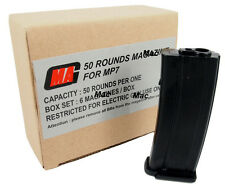 New MAG Box of 6 Pieces Value Pack 50rds Magazine for MP7 Airsoft AEG