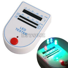 Mini Handy 2~150mA LED Tester Test Box for Light-emitting Diode Bulb Lamp New