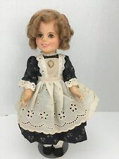 """Shirley Temple 12 inch """"the Littlest Rebel"""" Dress and Stand"""