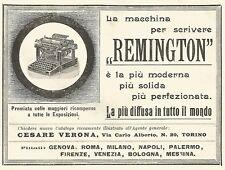 Y2150 Macchine da scrivere REMINGTON - Pubblicità del 1903 - Old advertising