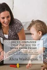 300 + Companies That Pay You to Work from Home : Legit Work at Home Jobs and...