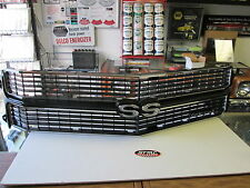 1970 70 CHEVELLE EL CAMINO NEW BLACK SS GRILL COMPLETE KIT ASSEMBLED