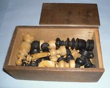 gift shabby decorative Antique french regency style wooden chess pieces vintage