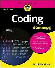 Coding for Dummies by Nikhil Abraham (2016, Paperback)