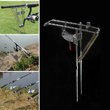 Portable Stainless Steel Double Spring Sea Fishing Rod Pole Stand Bracket Holder