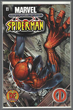 ULTIMATE SPIDER-MAN #1 DF VARIANT signed BENDIS & QUESADA Dynamic Forces W/COA