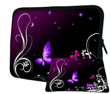 """LUXBURG 17"""" Inch Design Laptop Notebook Sleeve Soft Case Bag Cover + Mousepad AW"""