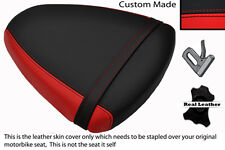 RED & BLACK CUSTOM FITS SUZUKI TL 1000 R 98-02 REAR PASSENGER SEAT COVER