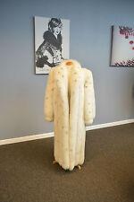 Stenciled Shadow Fox Coat, Always Stored!!!!. Pristine!!! Ironed/Glazed!