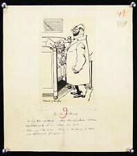 Marcel Prangey(1899-1954)LE CHIRURGIEN DOCTEUR bande dessinée DOCTOR MEDECINE
