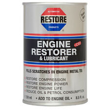 RESTORE lawnmower, rotavator & strimmer engines with AMETECH Engine Restore Oil
