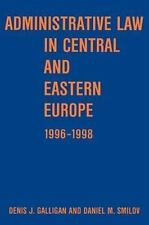Administrative law in Central and Eastern Europe