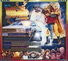 Data East BACK TO THE FUTURE PINBALL GIOCO LUCE BLU MOD
