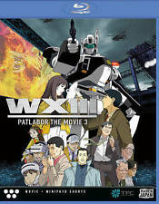 WXIII-Patlabor 3 the movie-full length anime feature-blu ray-021117/1720-oop
