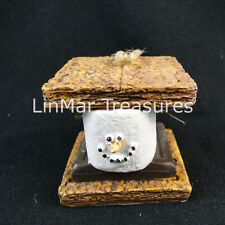 S'mores Sandwich Ornament Midwest CBK 040386 Graham Crackers Chocolate