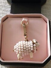 VERY RARE & RETIRED!! BRAND NEW JUICY COUTURE SHEEP BRACELET CHARM IN TAGGED BOX