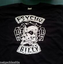 Psychobilly t-shirt l Hot Rod frankie meteorito Demented Mad sin 666
