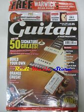 GUITAR & BASS MAGAZINE SEALED Dic 2008 Richie Sambora Paul Simonon Durhan No cd
