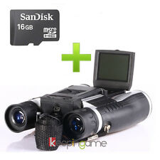Full HD 1080P Digital Binocular Telescope Video Recorder Camera FS608 + 16GB TF