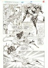 Guardians of the Galaxy #28 p.15 Titania & Talon Action 1992 art by Herb Trimpe