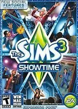 The Sims 3 Showtime Limited Edition PC Games Window 10 8 7 XP Computer expansion