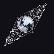 RESTYLE MOON GEOMETERY HAIRCLIP. HAIR BARETTE. LUNAR PHASES. WITCHCRAFT. WICCA