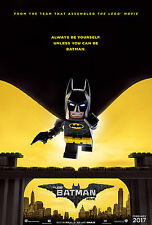 THE LEGO BATMAN MOVIE MANIFESTO POSTER ANIMAZIONE