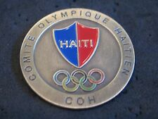 Rio 2016 &  2015 Pan Am Olympic Games LIMITED XL HAITI NOC delegation team pin