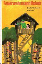 DDR Kinderbuch Feuerwehrmann Heiner  - Bilderbuch. Berlin, Kinderbuchverlag.