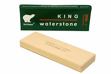 King 4000 grit full width Japanese Waterstone 185mm x 62mm x 19mm
