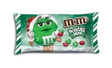 M&M's Bag Candy HOLIDAY MINT Chocolate Candies CHRISTMAS Mars 9.90 oz Exp. 8/16