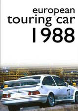 ETCC - European Touring Car Championship 1988 (New DVD) Ford vs BMW Ludwig Allum