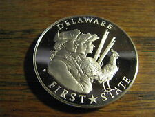 Fifty-State Bicentennial Medal Solid Sterling Silver  Delaware    Lot # P MT