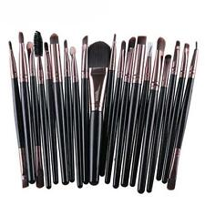 20 pcs Makeup Brush Set tools Make-up Toiletry Kit Wool Make Up Brush Set q1