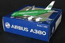 "Braniff A380 Reg:N3801BN Special "" Green "" Jet-X  Diecast models Scale 1:400"