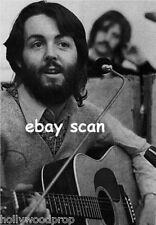 PAUL McCARTNEY THE BEATLES LET IT BE MARTIN D-28 GUITAR PHOTO POSTER REPRINT NEW