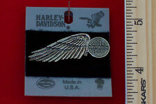 "Harley Davidson ""Winged Wheel"" Pin ""Antiqued Nickel""-H709N-P"