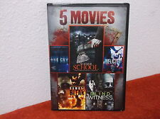 5-Movie Horror Pack, Vol. 5 (DVD, 2014)