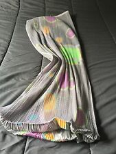 Amazing Skirt Jupe Pleats Please Issey Miyake Psychedelique Taille 3 Neuve!!!