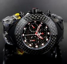 Invicta 52mm Reserve Carbon Fiber Swiss Chronograph Men's Black Watch 22143