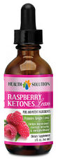 Raspberry Ketones Liquid - Weight Loss Drops - Fast Absorbing - 1B
