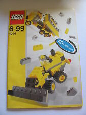 LEGO 4096 @@ NOTICE / INSTRUCTIONS BOOKLET / BAUANLEITUNG