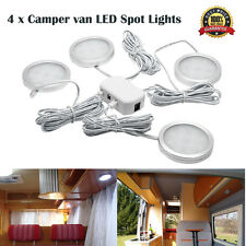 4x 12V Interior LED Spot Light for VW T4 T5 Caravan Camper Motorhome Boat Light