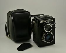 Vintage USSR LOMO LUBITEL 166B  6x6 film TLR Twin Lens Reflex Camera with Case