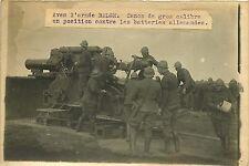PHOTO PRESSE Branger 180715 - Guerre armée belge canon en position